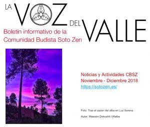 La Voz del Valle - Noviembre/Diciembre