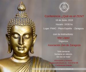 Conferencia ¿Qué es el zen?