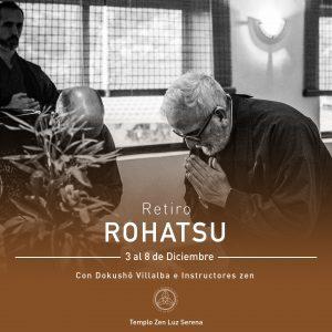 Pre-Inscripción a Retiro Rohatsu